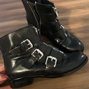Michael Kors Black Booties Size 7. Excellent